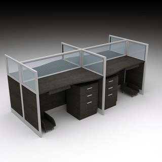 Office Partition - screen panel - office furniture - cubicle