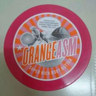 BN. Soap & Glory Orange ASM Body Butter 300ml expiry Dec 2018 sell $20