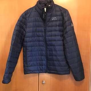 全新 Jack Wills 深藍色 羽絨外套 (購自英國,最後三件,有 XS, S , M碼 )
