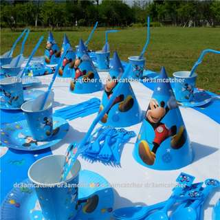 Mickey Mouse theme party supplies