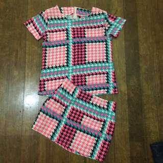 Houndstooth terno