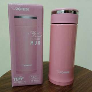 Mug stainless 360ml. Hot or cold