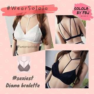 Solola - Diana Bralette / Black / Free size