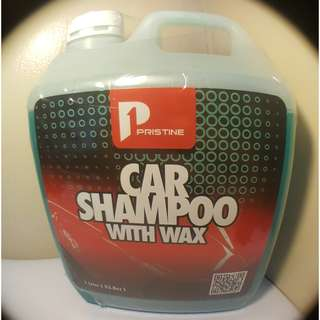 Pristine Car Shampoo with Wax