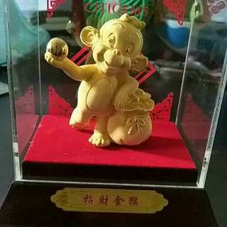 0.5G GOLD PLATED MONKEY