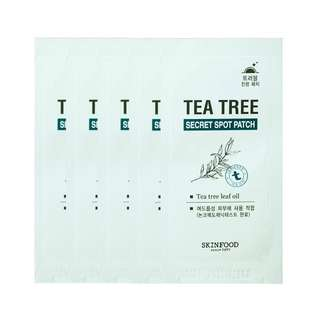 🚚 SKINFOOD Tea Tree Secret Spot Patch (5pcs)