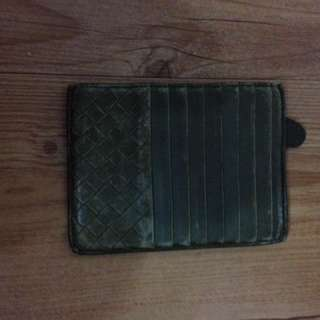 BV Bottega Veneta card holder wallet
