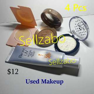 Welfare Bundle (5) : Paul Joe Bourjois Bourjois Bourjoris Dolly Wink Biore UV Used Cosmetics Makeup Beauty Eyes Shadow Eyeshadows Eyesshadows Face Base Colour Powder