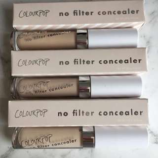 Colourpop Concealers