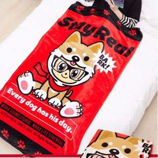 [Valentine Gift ] STAYREAL DOGGY LIMITED BLANKET