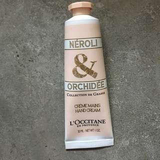 Loccitane Hand cream (Nerolee & orchidee)