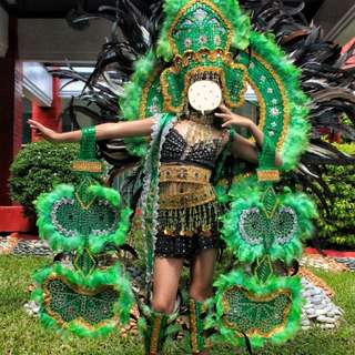 Ms. Brazil, United Nations Custom Made Costume