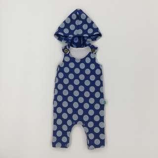 Blue Polka Dot Cool Hoodie
