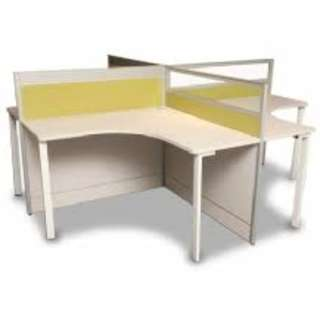office partition - office furniture - screen panel - chair