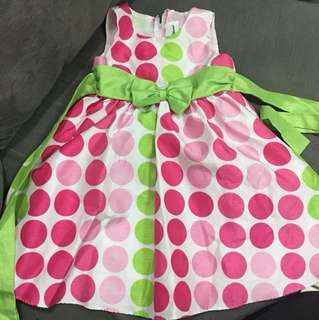 Cute polka dot dress 2t