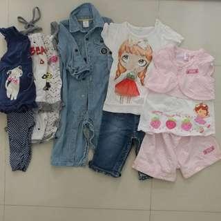 Kids clothing bundle (10)