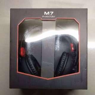 Aftershock gaming headset phantom M7