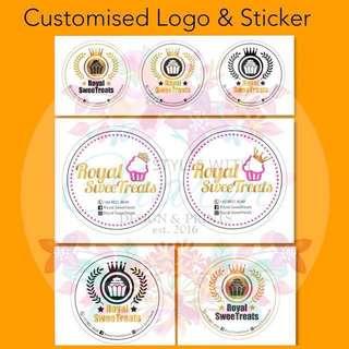 Customised Company Logo & Sticker Design