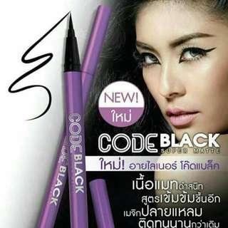 Code Black Eyeliner Super Matte