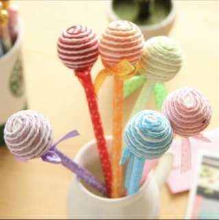 Lollipop pens