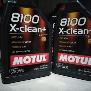 Motul Clean + 1Litre bottle