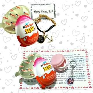 Vday gift idea Customized Kinder Joy