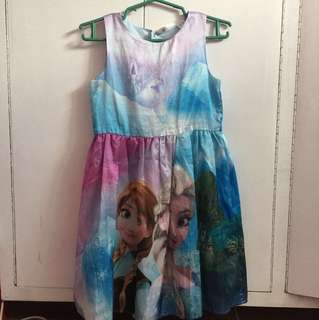 H&M Frozen Dress 8-9yo