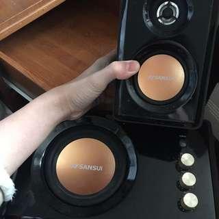 (hold) Hi Fi 家用音響 7.1 喇叭 audio vintage