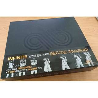 全新INFINITE [Second Invasion] 1st Concert Live In Seoul (韓國版BOX SET)