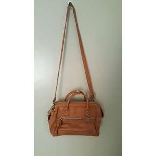 Authentic Anello Camel beige 2-way bag