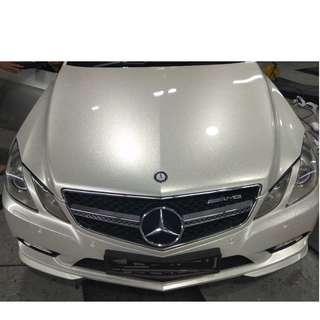 Glittering Sticker Wrap - Silent Wrap - Mercedes Benz