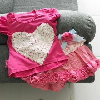 FREE with Purchase! Girl's Clothes