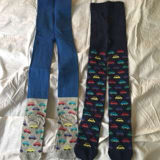 Boy Leggings tights BN Warm winter tights from Mothercare 3-4