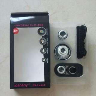 Universal Clip Lens 4in1