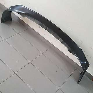 Civic FD2R carbon Js Racing Lip. Unfinished From Factory Due To Weaving Not Nice. Good For Non Fussy Buyer. Selling At Fiberglass Price. For Those Who Wants To Respray Also Good.