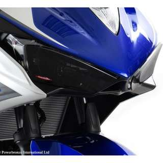 Powerbronze headlight protector for Yamaha YZF R3 2015-2016 (tinted - not road legal) $105
