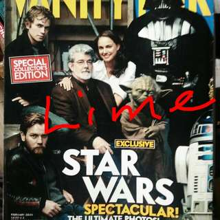 Star Wars- Vanity Fair Special Collectors Edition