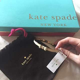 BNIB KATE SPADE TAKE A BOW BANGLE