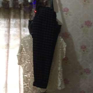 Lace and pants 1set