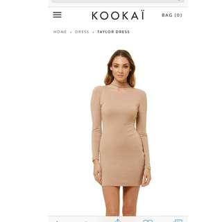 Kookai nude dress