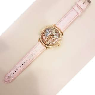 Owl Rhinestone Watch ( Pink)