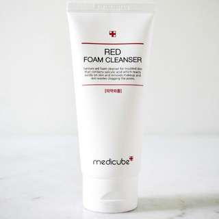 medicube red cleanser