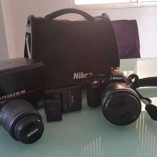 Nikon D5100 + 2 lens