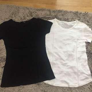 Tshirt Bundle Uniqlo Zara