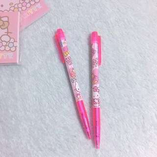 Hello Kitty Blue Ink Pen - Hot Pink