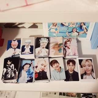 Lot of Kpop photocards (Monsta X, SHINee, VIXX, Seventeen)
