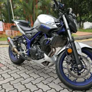 Yamaha MT03 Nov 2016