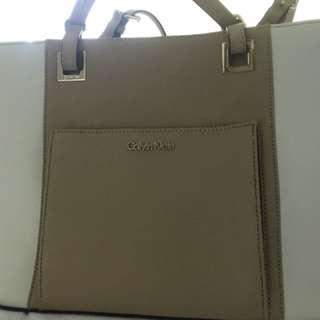 Calvin Klein Saffiano Leather tote bag