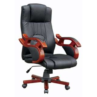 Office furniture - highback leather chair