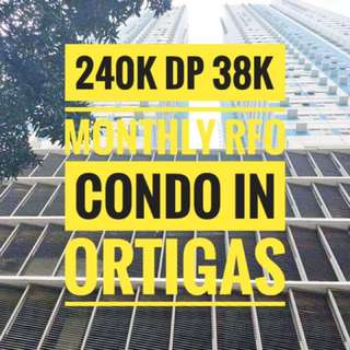 2 BEDROOM RFO IN ORTIGAS NEAR MEGAMALL SHAW AND EDSA